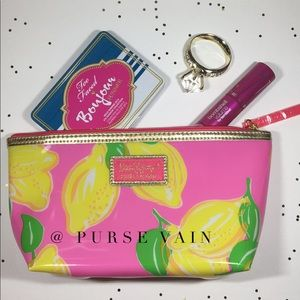 Lilly Pulitzer make up pouch bag